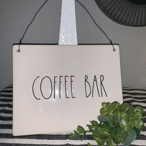 Rae Dunn Coffee Bar Sign